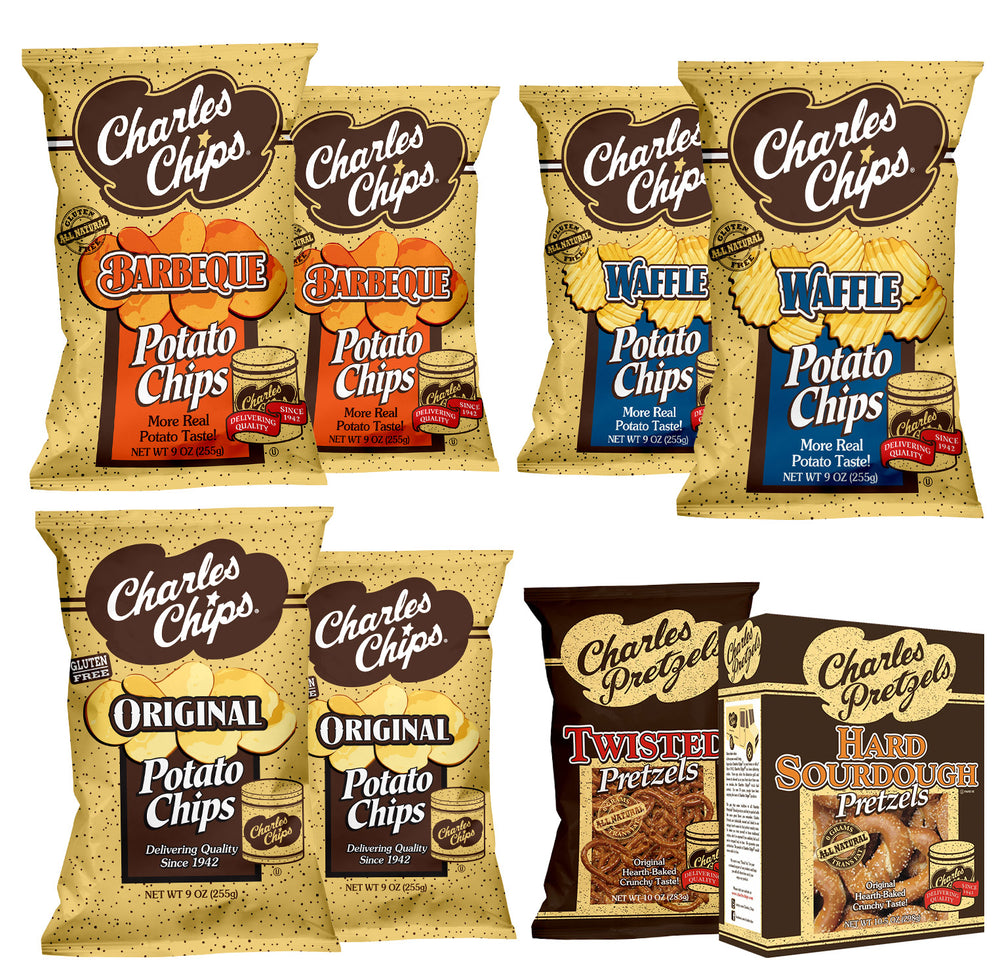 Charles Chips Combo Bundle