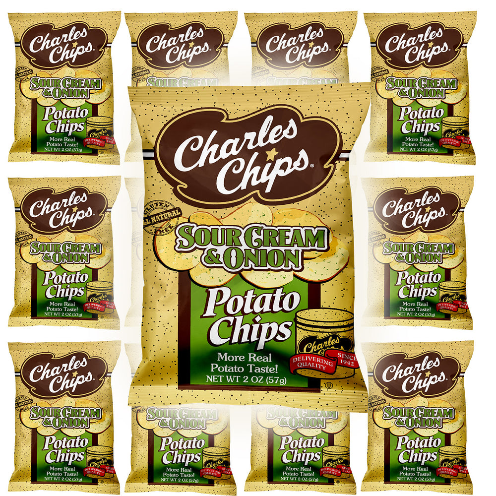 2oz LIttle Charlies SourCream & Onion ( Pack of 12 )