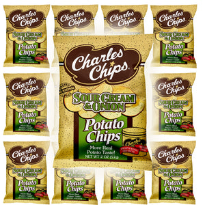 Load image into Gallery viewer, 2oz LIttle Charlies SourCream & Onion ( Pack of 12 )