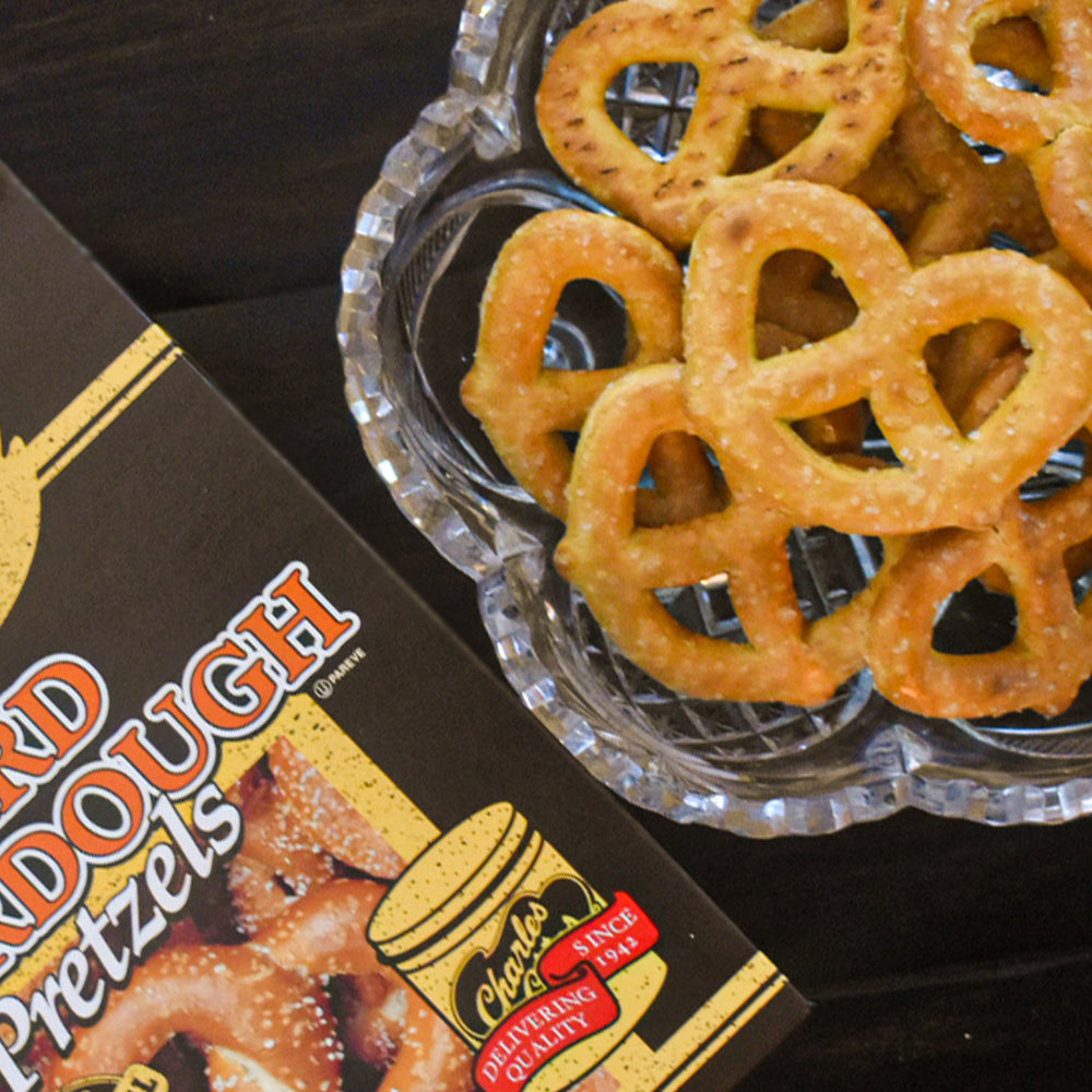 Load image into Gallery viewer, 10.5oz SourDough Pretzels (Pack of 3)