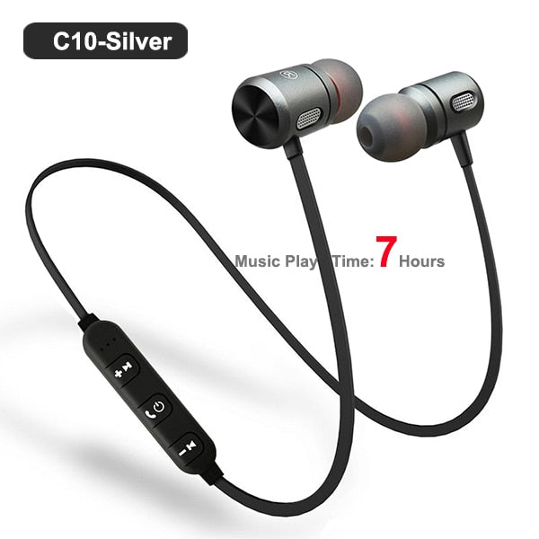 0edf2c75cb8 ... CBAOOO Wireless Bluetooth Earphone Headphones Sport Bluetooth Headset  Earbuds Magnetic Earpiece with Microphone for phone ...