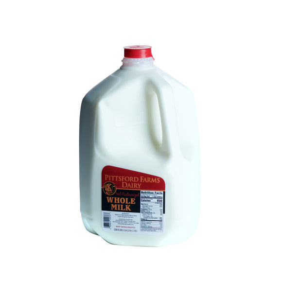Milk, 1 gallon, whole (Friday)