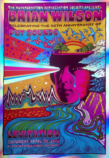 Brian Wilson at Levitation Festival 2016 - Foil variant - SOLD OUT