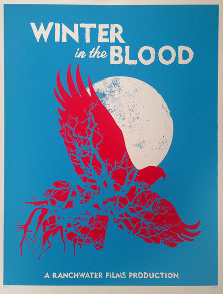 Winter in The Blood movie print