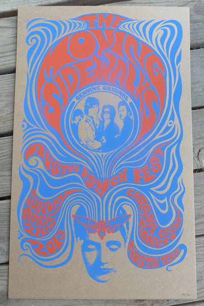 The Moving Sidewalks at Psych Fest (blue variant)