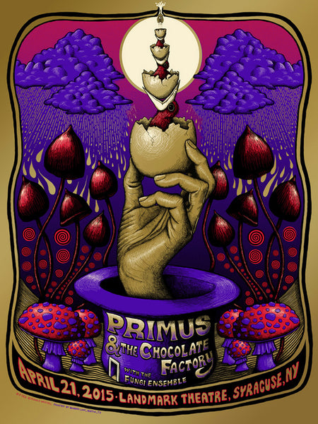Primus at Syracuse, NY - GOLD/RED VARIANT - SOLD OUT