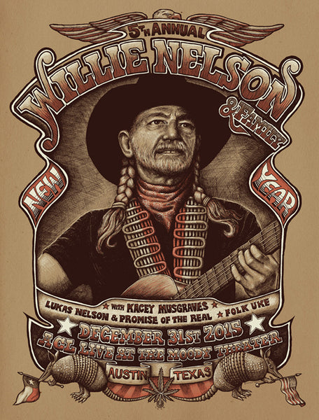 Willie Nelson - NYE at ACL Moody Theater, Austin