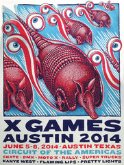 X Games Dillo Poster SOLD OUT