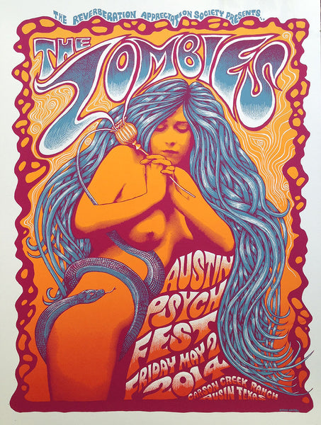 The Zombies at Psych Fest SOLD OUT