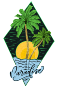 my Sports Paradise Logo | Sea, sun, palm trees