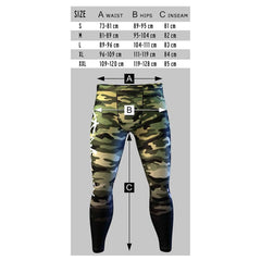 Anarchy Apparel - Size Chart / Dimensions Leggings