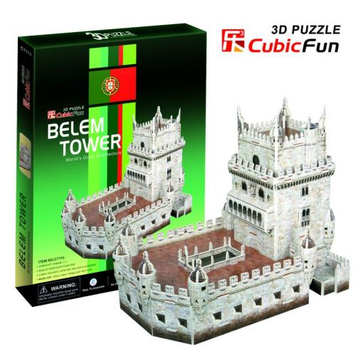 3D Puzzle Belem Tower - my Sports Paradise