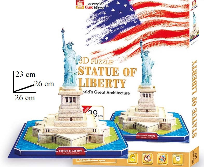 3D Puzzle Statue of Liberty - my Sports Paradise
