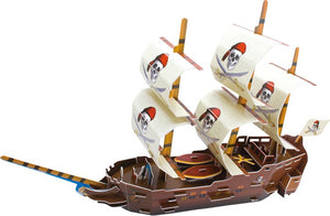 3D Puzzle Piraten Schiff - my Sports Paradise