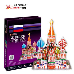 3D puzzle Saint Basil cathedral - my sports paradise