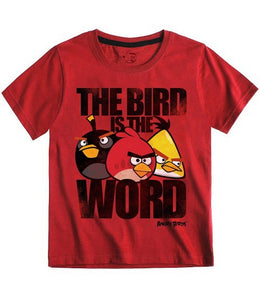 Angry Birds Shirt | The bird is the word - my Sports Paradise