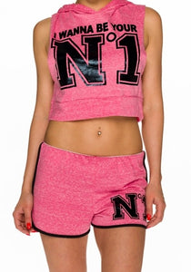 Crop Top + Shorts N1 - my Sports Paradise