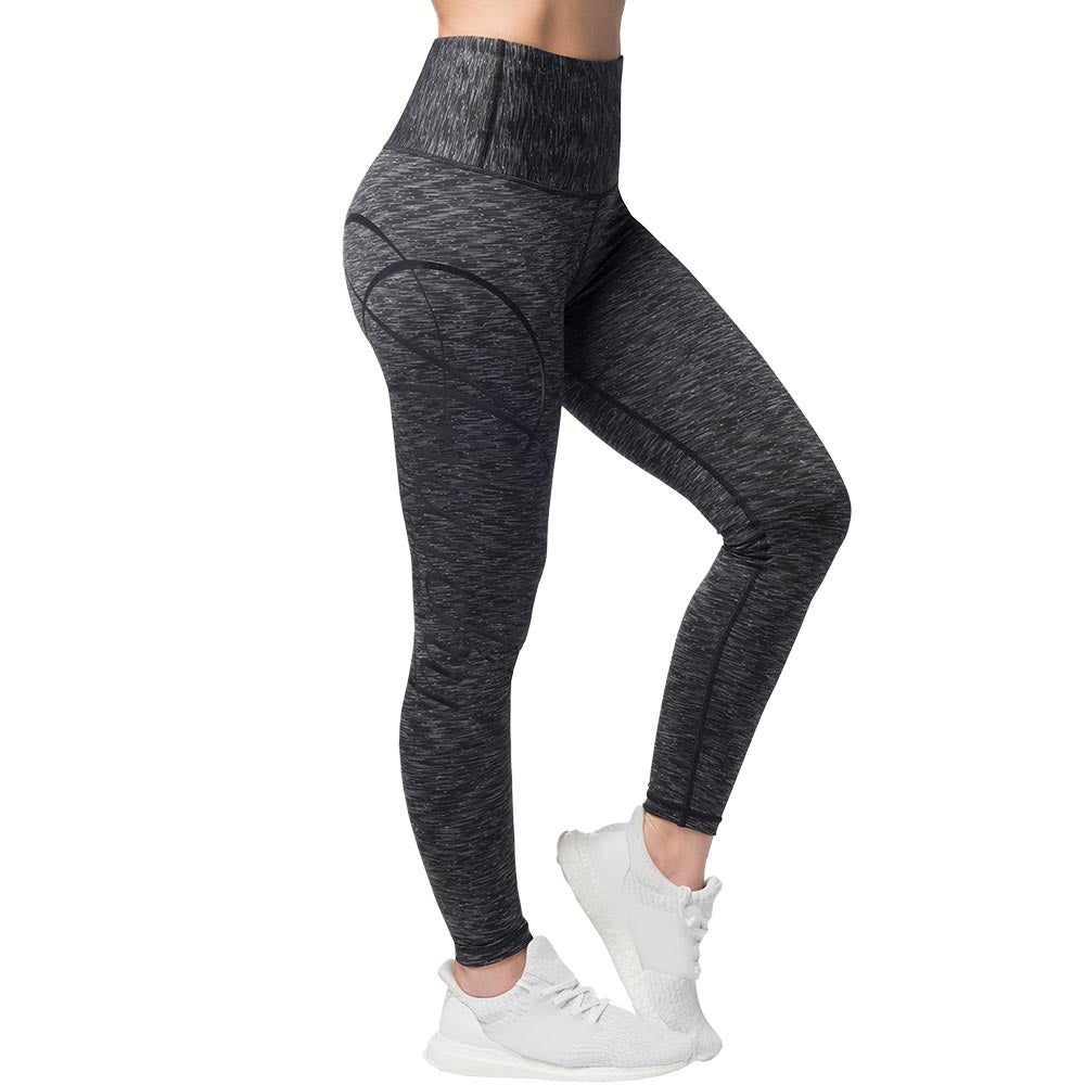 Cushy | black gray | Leggings - my Sports Paradise