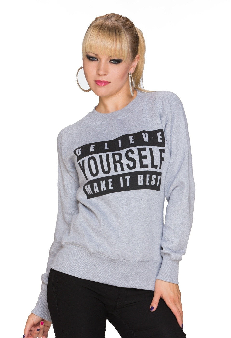 Pullover believe yourself - my Sports Paradise