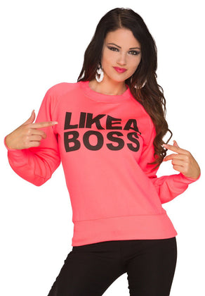 Pullover Like a Boss - my Sports Paradise