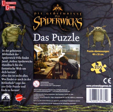 Upload the image to the gallery viewer, Puzzle | The secrets of the Spiderwicks - my Sports Paradise