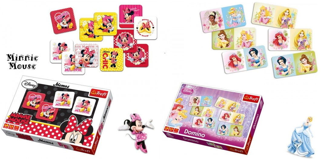 Disney Domino + Disney Memory im Set - my Sports Paradise