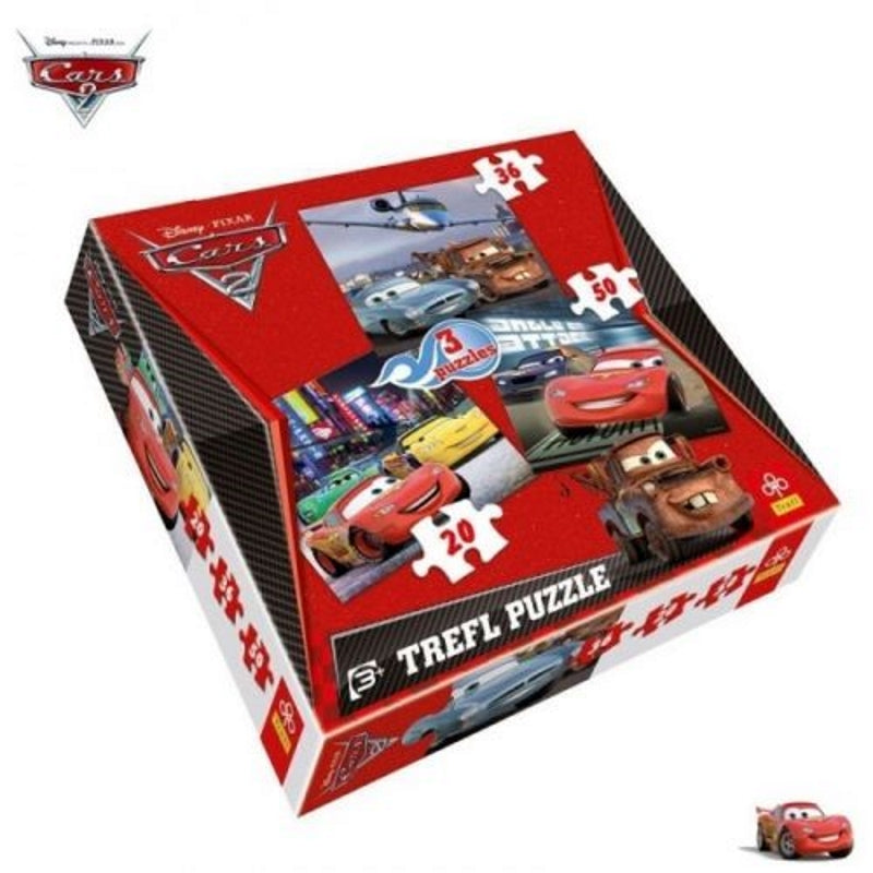 Disney Pixar Cars 3 in 1 Puzzle - my Sports Paradise