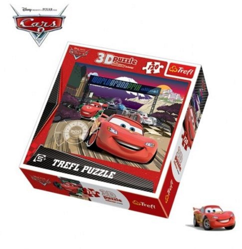 Disney Pixar Cars 120 puzzle with 3D hologram - my sports paradise