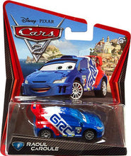 Upload the image to the gallery viewer, Raoul Caroule | Disney Pixar Cars Mattel collector car 1:55 # 9 - my sports paradise