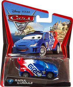 Raoul Caroule | Disney Pixar Cars Mattel collector car 1:55 # 9 - my sports paradise