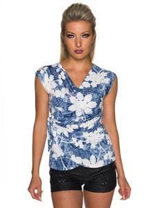 Jeans + Blumen Top - my Sports Paradise