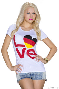 Love Germany Fan Shirt - my Sports Paradise