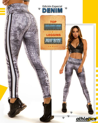 Denim Reptil Grey - my Sports Paradise