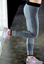 Load the image into the gallery viewer, leggings heather gray - my sports paradise