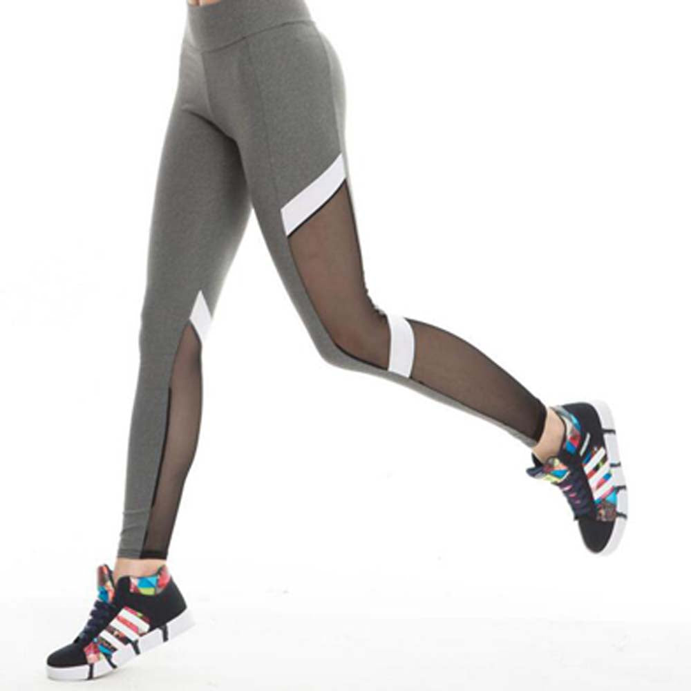 Mesh Leggings grau - my Sports Paradise