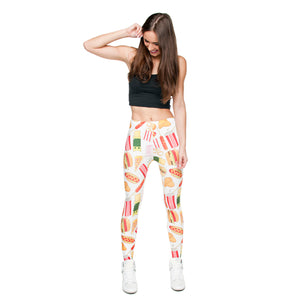 Leggings Fast Food Style - my Sports Paradise