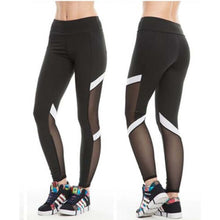 Upload the image to the gallery viewer, Mesh Leggings Black | Lea - my Sports Paradise