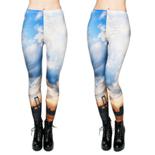 Load the image into the gallery viewer, Leggings in Bridges Sunset Style - my Sports Paradise