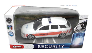 Mondo Metall Cars Set of 3 | Police fire department emergency doctor - my sports paradise