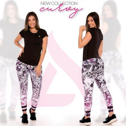 Skully Flora Leggings - my Sports Paradise