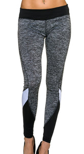 Leggings grau meliert