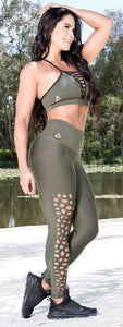Jo Black Laser Cut | Leggings - my Sports Paradise