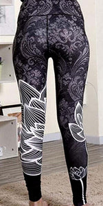 Yoga Leggings mit Flower Power - my Sports Paradise