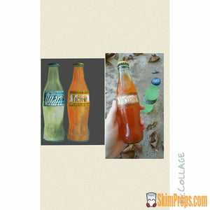 Fallout 2 Pack Nuka-Cola Victory & Quartz! Wasteland Custom Made Fall Out Nuka Cola Flavors.