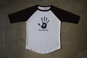 Dark Brotherhood Childs' T-Shirt Skyrim Elder scrolls We know