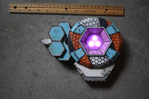Shield of the FireHawk Cosplay Replica Borderlands Siren Lilith Maya Fire Hawk Shield Costume LED light up Touch Lamp DIY Border Lands Prop