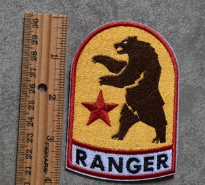 Fallout New Vegas NCR Patches! Iron-on Fallout Ranger Patch