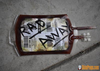 Radaway Blood Pack Fallout 4 Rad Away Prop! Iv Bag Chem Pack. Cosplay Props Or Replica! Buffout