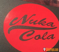 Fallout Nuka Cola Vinyl Bumper Stickers. Fall Out 4 Nuka-Cola Caps Logo Wasteland Nukacola Decal