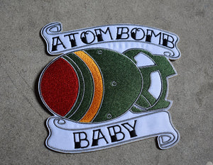 Atom Bomb Baby Patches! Iron On Patch Inspired by Fallout 4 76 Fatman MiniNuke Mini Nuke